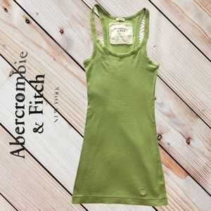 Abercrombie and Fitch- Small- Tank/light green